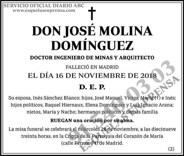 José Molina Domínguez